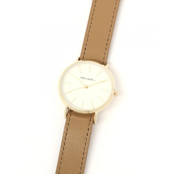 腕時計レザーブレスウォッチ