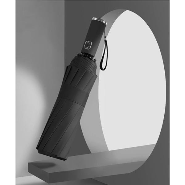 折りたたみ傘 晴雨兼用 ユニセックス丈夫な12本骨ワンタッチ自動開閉折りたたみ傘UVカット99%