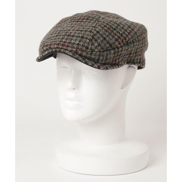 帽子ブリティッシュウールハンチング帽/キャスケット