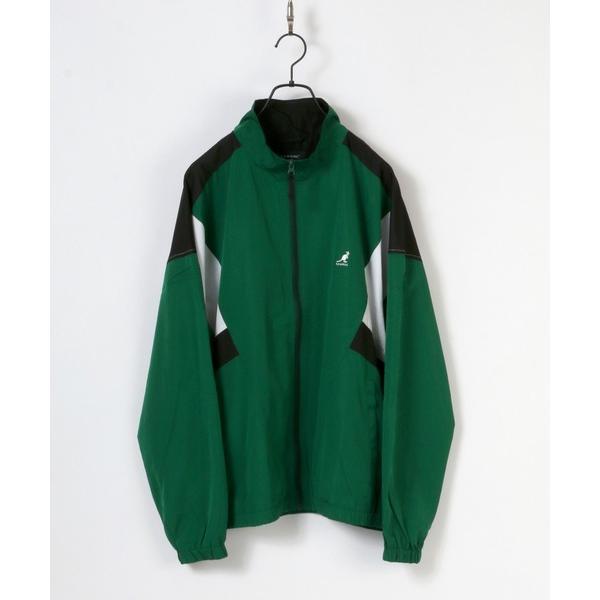 ジャケットナイロンジャケットKANGOL/カンゴールナイロン切替トラックジャケット