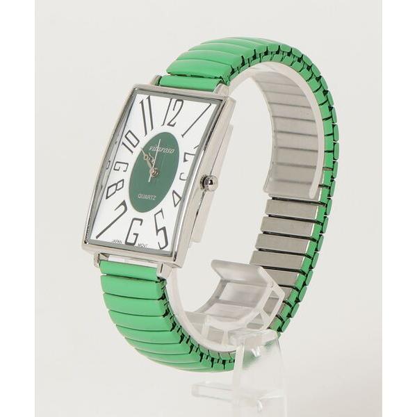腕時計レディース腕時計ジャバラベルト日本製ムーブメント