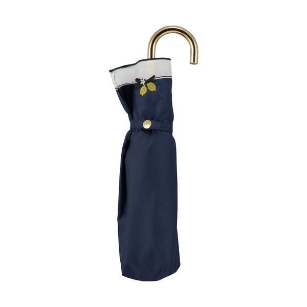 折りたたみ傘遮光レモン刺繍mini