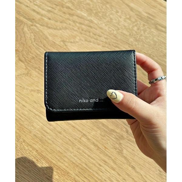 財布オリジナルロゴ三つ折り財布