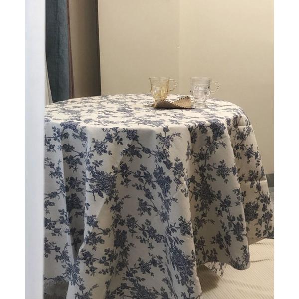 インテリアアンティーク花柄テーブルクロス