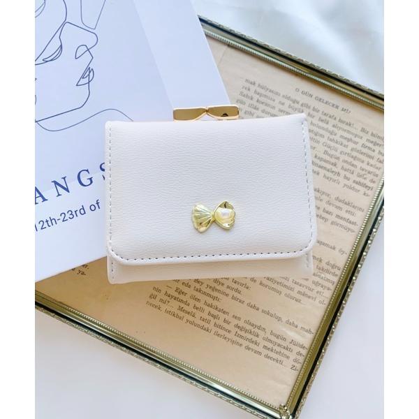 財布シェルモチーフミニウォレット