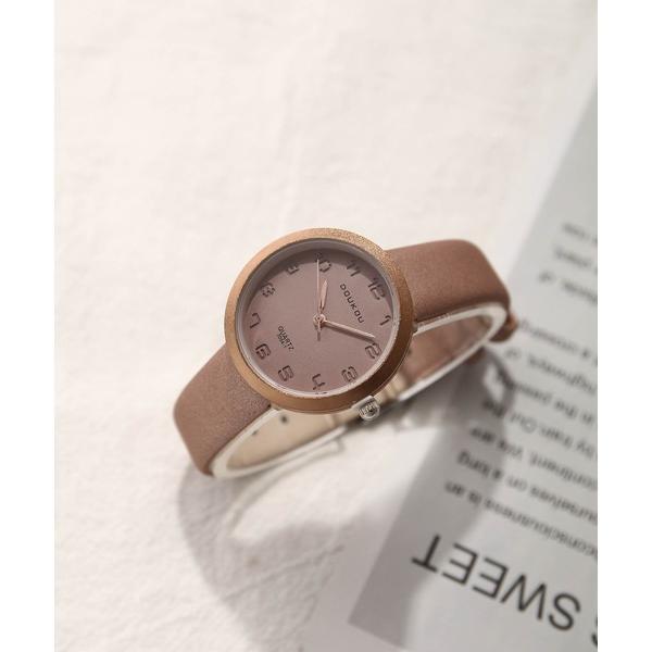 腕時計スモークカラーデザインウオッチ