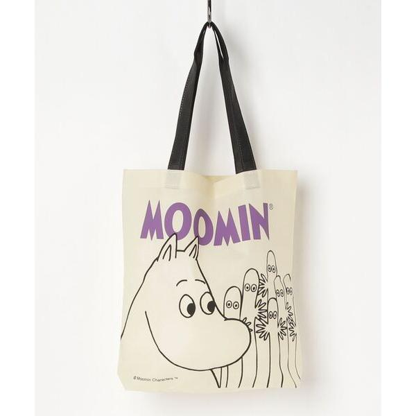 トートバッグバッグキャラクター不織布トートバッグ(MOOM)