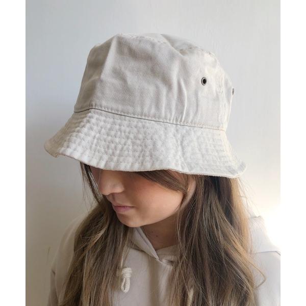 帽子ハット newhattan(ニューハッタン) バケットハットツイルデニム