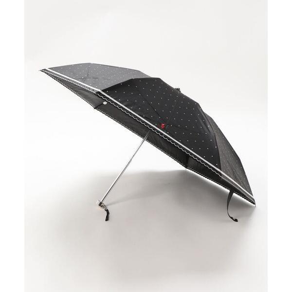 折りたたみ傘晴雨兼用折りたたみ日傘ドット