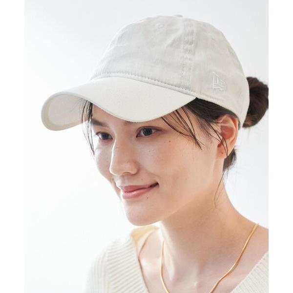 帽子キャップ 別注  ニューエラ NEWERASCリネンシャンブレーキャップ