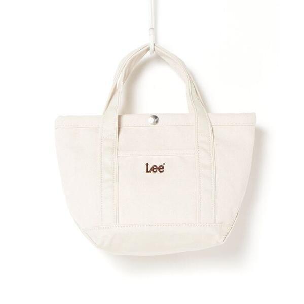 トートバッグバッグ Lee/リー ブランドロゴキャンバスミニトートバッグ