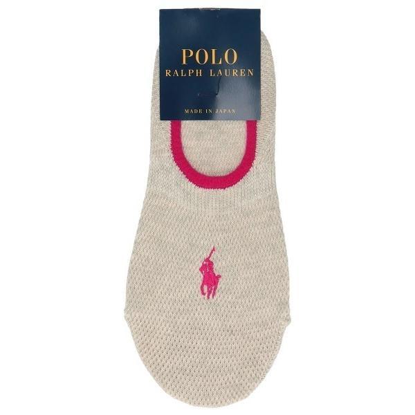 靴下POLORALPHLAURENレディース日本製カノコワン深履きカバーソックス03207862