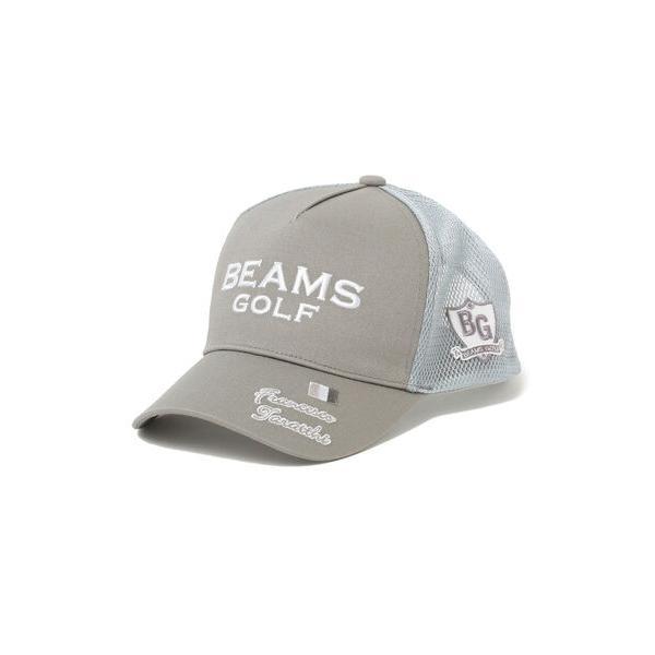 帽子キャップ<MEN>BEAMSGOLFPURPLELABEL/タラッティトラックキャップ
