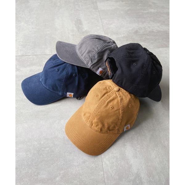 帽子キャップ Carharttカーハート ウォッシュドツイルキャップCottonCanvasCap