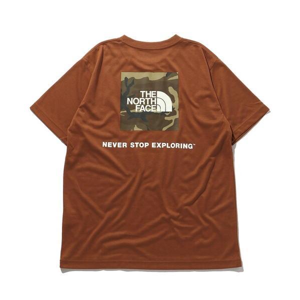 tシャツTシャツWEB THENORTHFACE/ザノースフェイスショートスリーブスクエアカモフラージュTシャツ/NT32158
