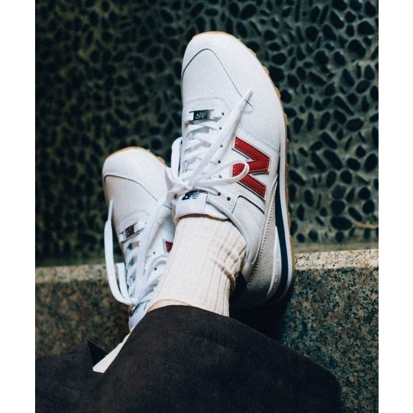 スニーカーNewBalanceニューバランスWL996FPK(D)WL996WL996FPKABC *WHITE/RED(FPK