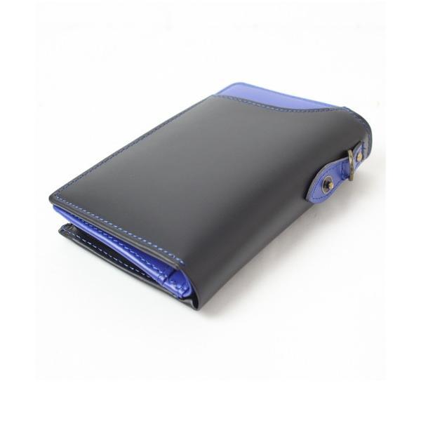 財布リサイクルレザーL型ファスナー財布