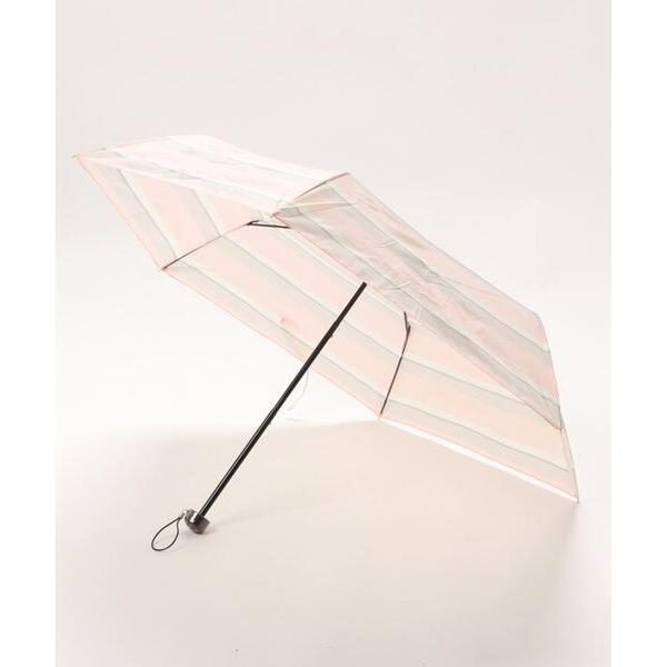 折りたたみ傘マルチボーダー折りたたみ傘