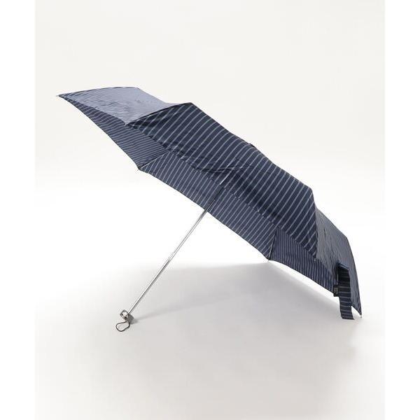 折りたたみ傘ストライプ折りたたみ傘