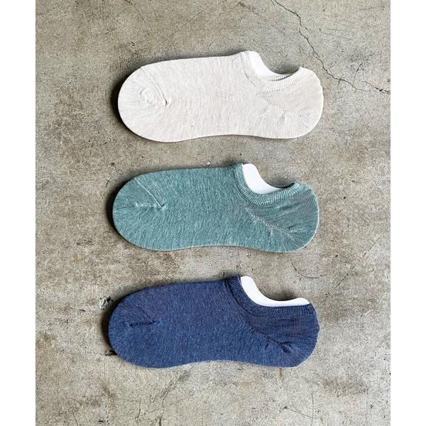 靴下SZT:レディース無地くるぶしソックス3足セット