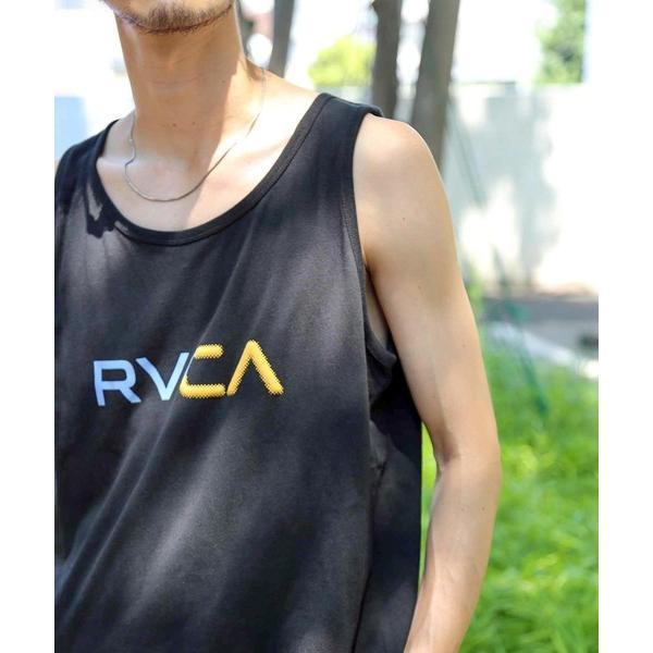タンクトップ RVCA メンズ 【ALL TIME COLLECTION】 SCANNER TANK タンクトップ【2021年夏モデル】/ルーカバック