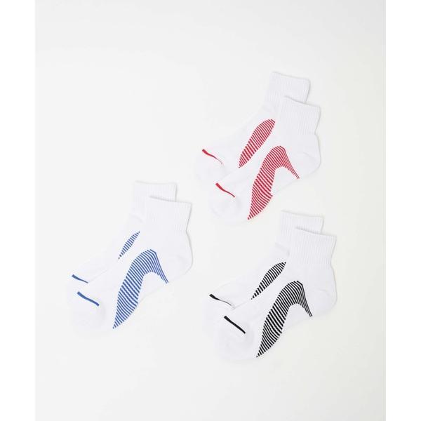 靴下WEGO/ 3点セット スポーツハイソックス