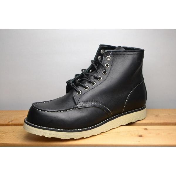 送料無料BCR 本革アイリッシュセッターブーツ BC2180 ブラック  紳士 メンズ ブーツ (N)|zstyle