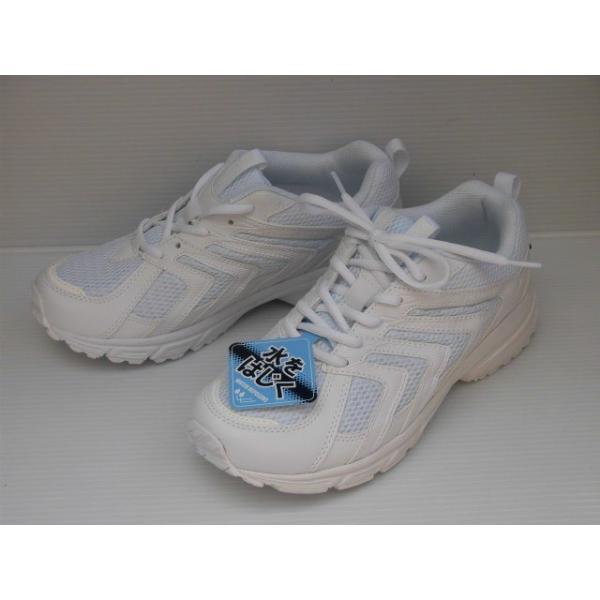 98cfc02c07fd94 水をはじく撥水加工 幅広4E 軽量 スポルディングJN347 白 紳士 メンズ スニーカーの
