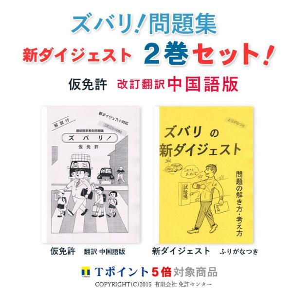 新ダイジェスト2巻セット「仮免許 翻訳 中国語版」|zubarimondai