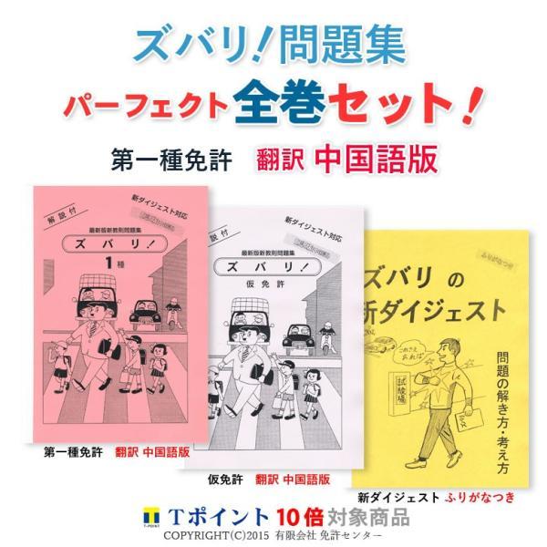 一種免許 全巻セット 翻訳 中国語版|zubarimondai