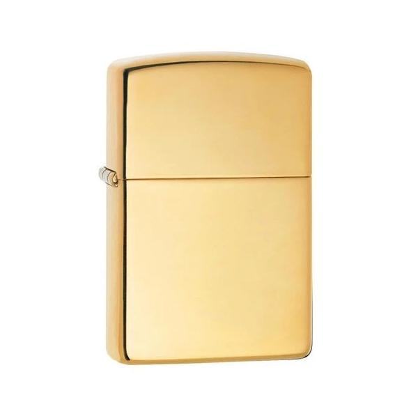 ZIPPO Zippo ジッポ ジッポー #254B BRASS POLISH ブラスポリッシュ ゴールド 無地 プレーン ライター オイル たばこ タバコ アウトドア【代引き不可】