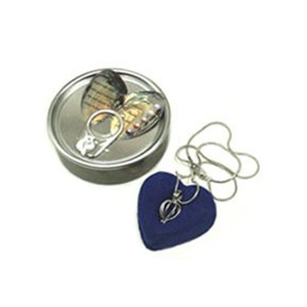 注文 缶パールネックレス幸せを呼ぶ真珠願い事が叶う 自分だけのペンダント真珠ネックレスパールの缶詰母の日真珠の缶詰こども面白