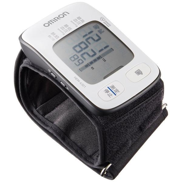 オムロン HEM-6301 手首式 自動血圧計 OMRON 正確測定サポート機能【あすつく】|zumi