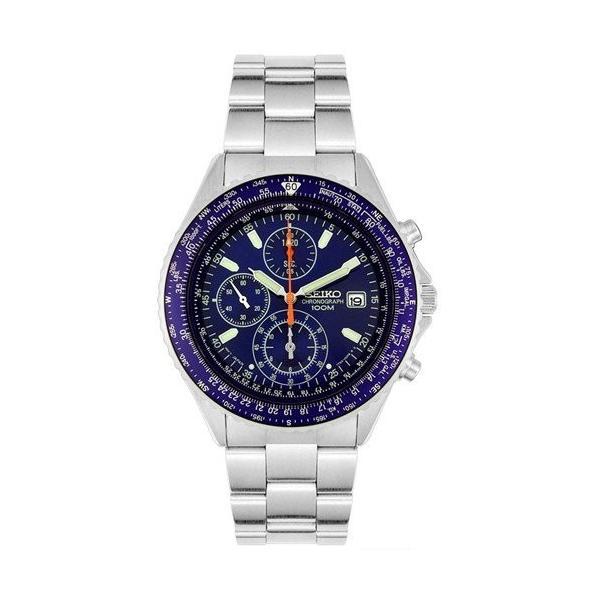 【72%OFF】SEIKO セイコー 腕時計 メンズ クロノグラフ SND255P1 クオーツ 逆輸入 パイロット【平日15時まであすつく|zumi