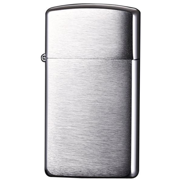 ZIPPO ジッポ No.1600 ジッポーライター スリムジッポー・ブラシュ #1600 オイル ライター オイルライター ライター アウトドア 喫煙 タバコ 煙草