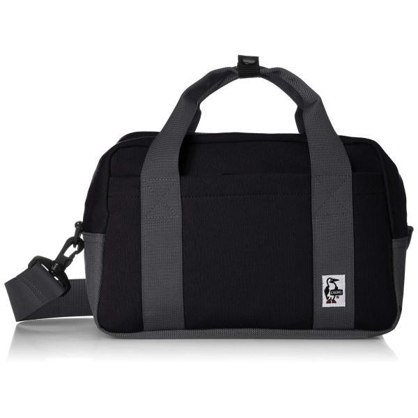 [チャムス] Camera Boston Sweat Nylon CH60-2667-K018-00 Black/Charcoal zwink