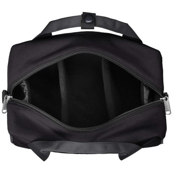 [チャムス] Camera Boston Sweat Nylon CH60-2667-K018-00 Black/Charcoal zwink 05