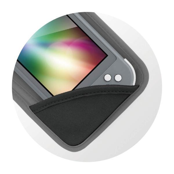 ニンテンドースイッチLite用本体収納ポーチ『ソフトポーチSW Lite(ブラック)』 - Switch|zwink|05