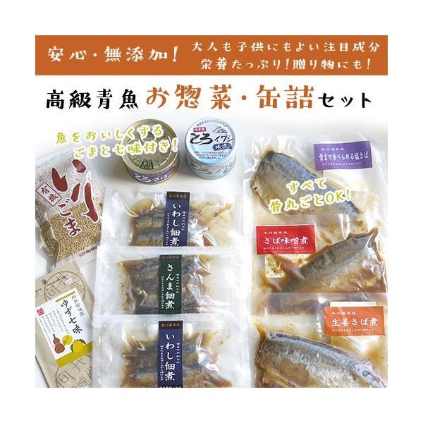 無添加・レトルトお魚お惣菜と缶詰セット(惣菜セット)|zyr|02