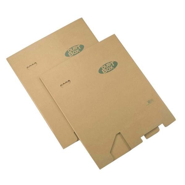 下村企販 分別 ゴミ箱 ダンボール ダストボックス 脚付き 2個組 45リットル ゴミ袋 対応 16048|zzoo|09