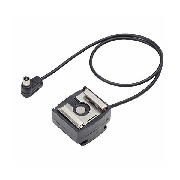 ETSUMI ホットシュー 26cm コード付き マニュアル発光専用 E-519
