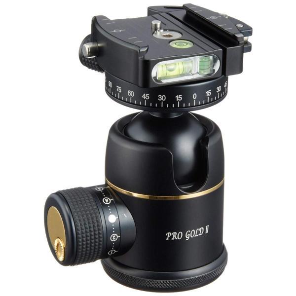 Photo Clam プレミアム ボールヘッド プロ ゴールド 2 Easy PQR (ブラック) PCL-0052