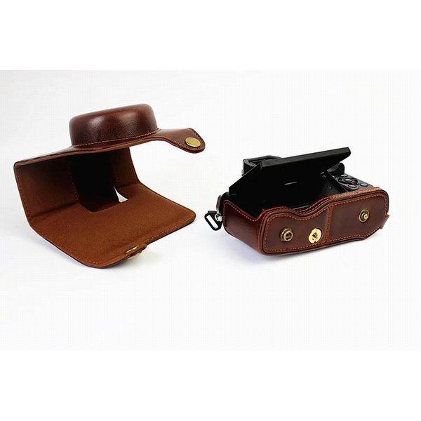 オリンパス OM-D E-M10 Mark II OM D E M10 Mark II 14-42mm カメラケース、koowl 手で作った