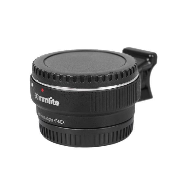 Commlite オートフォーカスEF-NEX EF-EMOUNT FX レンズマウントアダプター Canon EF EF-S レンズ→So