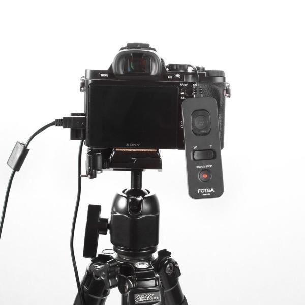 FOTGA(フォトガ) リモートコマンダー ソニー RM-VPR1 交換品 NEX A7 A7s A7r A6500 A6300 A6000