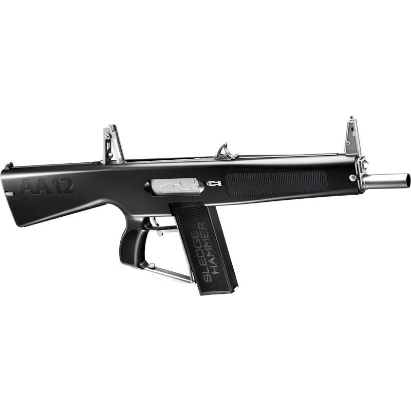 マルイ 電動ショットガン AA-12 ニッケルフルセット(本体+バッテリー+充電器)フルオート電動ショットガン※18才以上