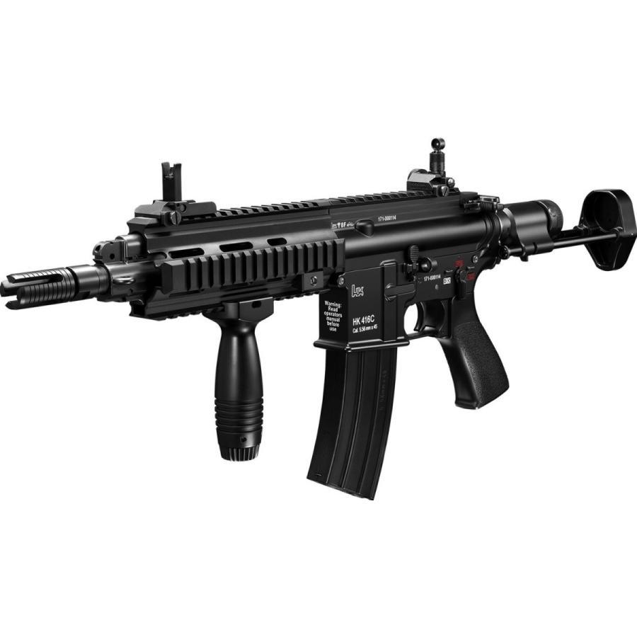 マルイ HK416C カスタム ニッケルフルセット(本体+バッテリー+充電器)(次世代電動ガン)※18才以上