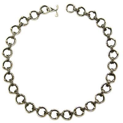 ファッションデザイナー ネックレス シルバー アクセサリー 7CROSS セブン クロス, eフリーデン 42075f27