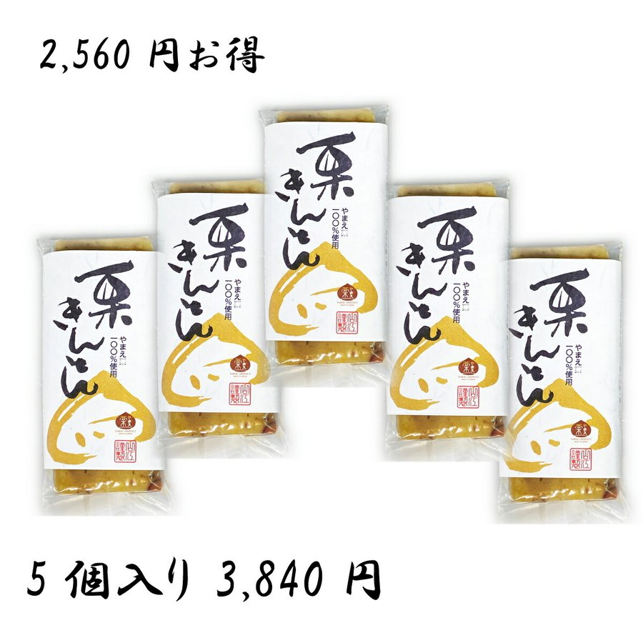 -栗きんとん 100g×5個- 国産 栗 やまえ おせち 山江村 送料無料 驚きの値段で 熊本県 ストア