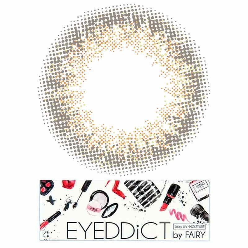 新しいブランド カラーコンタクト FAIRY EYEDDiCT フェアリー by ダスティーヌード 1箱10枚 アイディクト バイ ワンデーカラコン 度あり・度なし カラコン-コンタクトレンズ、ケア用品